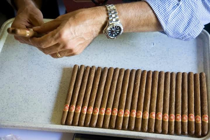 Of cigar aging