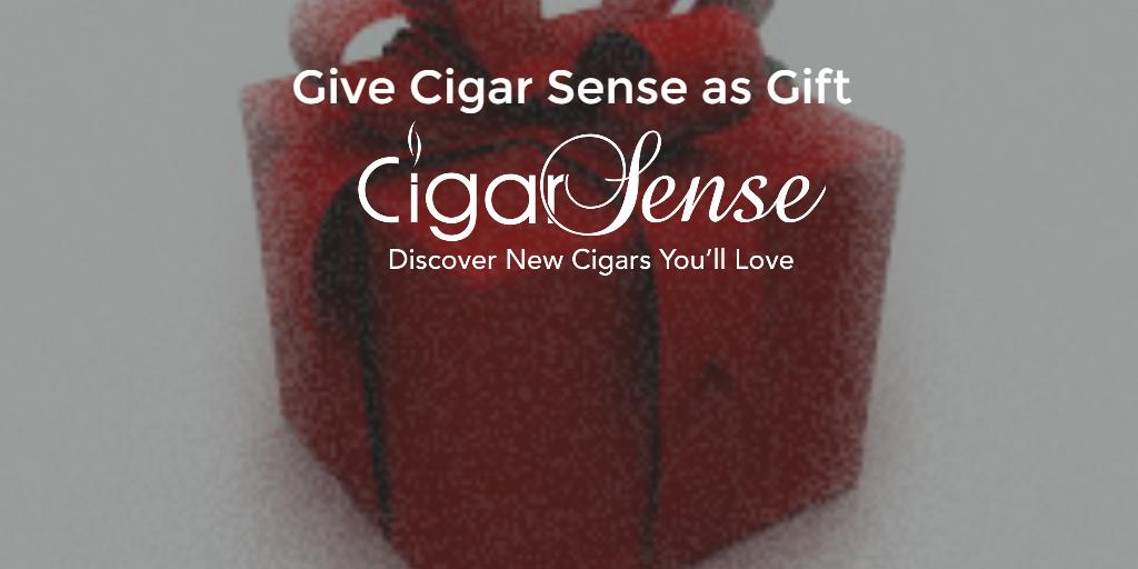 give Cigar Sense as a gift