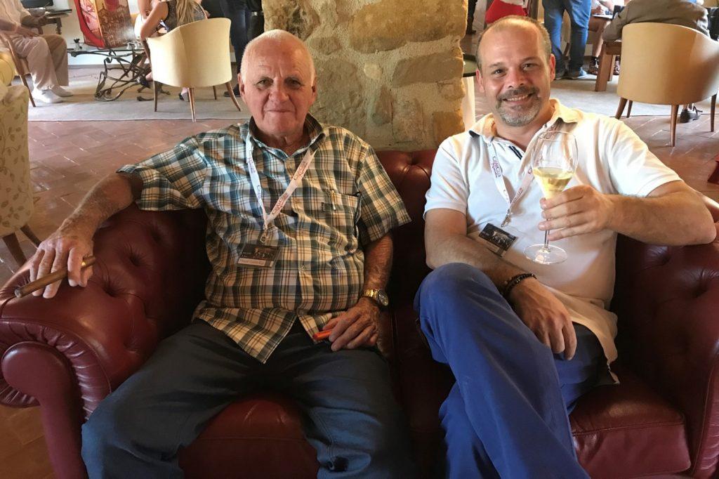 OF HOMBRES HABANOS 2016 : MANUEL TUERO PAZ AND VALERIO CORNALE