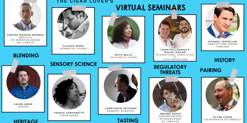 The Cigar Lover's Virtual Seminars