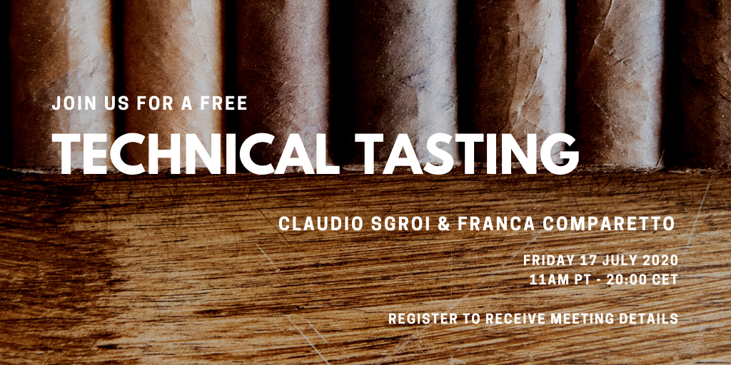 Cigar Sense Virtual Tasting Claudio Sgroi