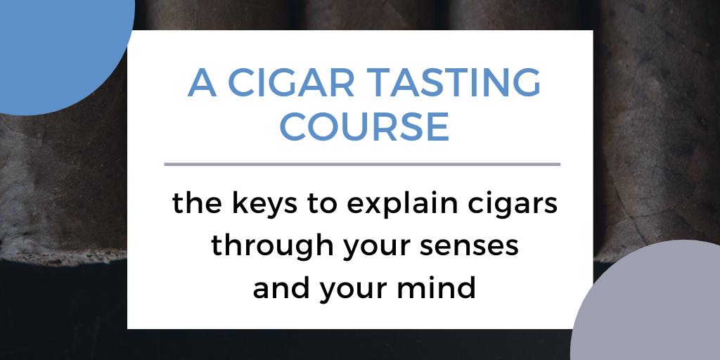 A cigar tasting course