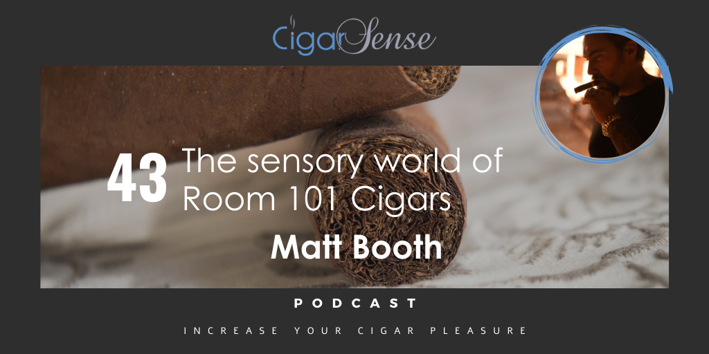 The sensory world of Room 101 Cigars